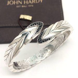 John Hardy Modern Chain Black Sapphire Bracelet